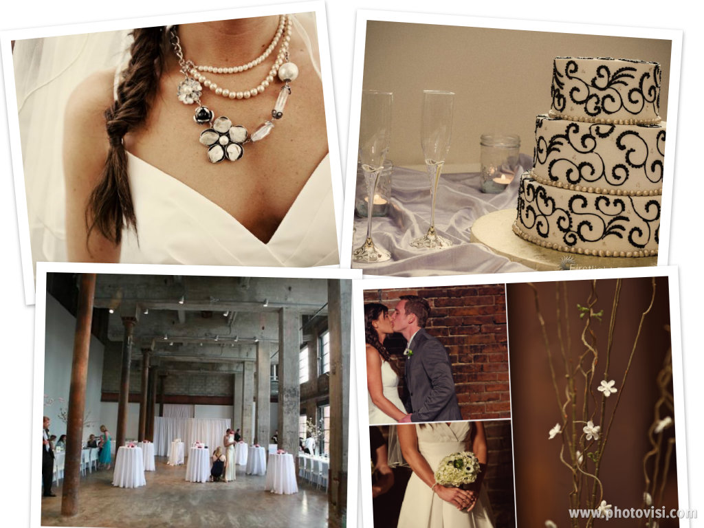 Urban Chic Wedding - Pearled Kiss Weddings & Events